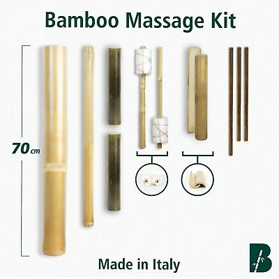 -15% OFF - Bamboo Massage Kit (11 stick) TOP VERSION - Untreated, Natural, craft