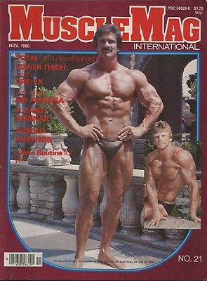 Musclemag Bodybuilding Magazine November 1980