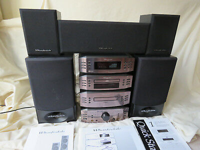 Wharfedale SYS44 Dolby Prologic Component Midi Hi-fi System