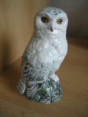 Royal Doulton Whyte And Mackay Snowy Owl Decanter