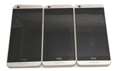 3 Lot HTC Desire 626 Smartphone GSM Power Up Good LCD Wholesale Locked TracFone