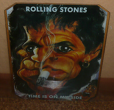 THE ROLLING STONES * Keith Richards  Time Is On My Side Picture Disc shape RAR!!