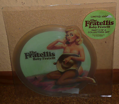 THE FRATELLIS Baby Fratelli - picture shape disc RARE Near Mint!
