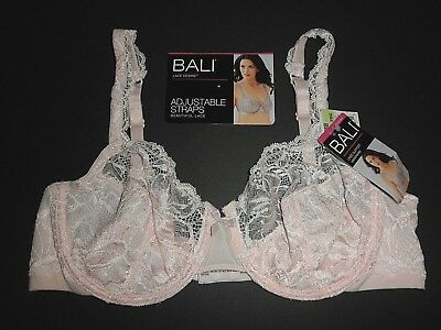 f945802ab5 NWT  42 Bali Lace Desire No-Foam Lined Support Underwire Bra 6543. 38B