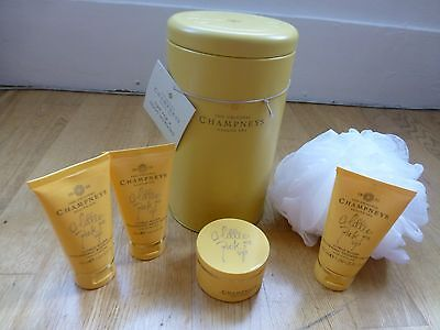 Champneys Time for a Good Morning Gift Set in a Tin - Ideal Gift  NEW