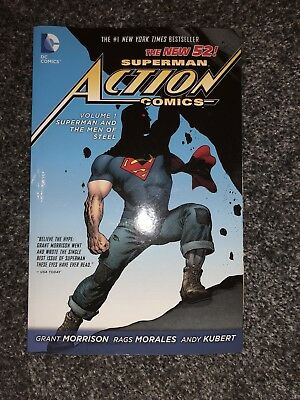Superman Action Coimcs - Volume 1: Superman and the Men of Steel (The New 52)