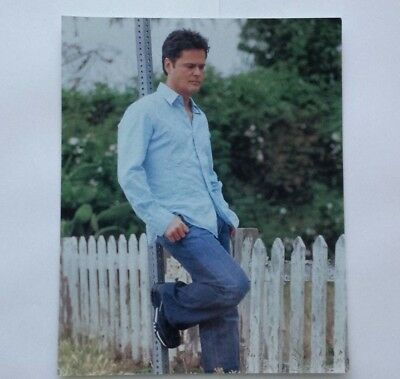 Pop Star Singer Donny Osmond 8X10 Vintage Glossy Color Photograph Mint Condition