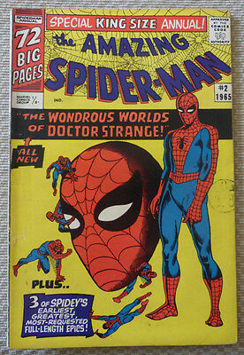 The Amazing Spider-Man Annual #2, 1965, A King Size Marvel Classic.