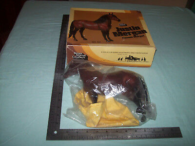 Original Collector Justiin Morgan Bay #65 1979 Breyer Horse In Box W/ Blanket