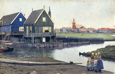 Photochromie AK 1958 - Holland - Insel Marken