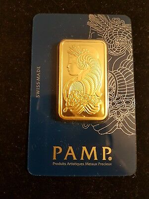 Top Barren Pamp Suisse 1Ounce fine gold 999.9?!