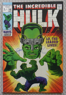 The Incredible Hulk #115, A Silver Age Marvel Comic, 1969.