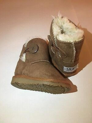 Baby fur lined Ugg boots size 3