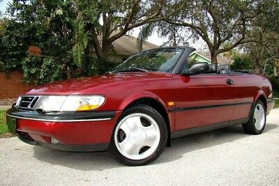 1995 Saab 900 SE Turbo Convertible 2-Door 1995 SAAB 900 SE CONVERTIBLE! ONLY 77K LOW MILES!  TURBO! 5-SPEED! SUPER CLEAN!