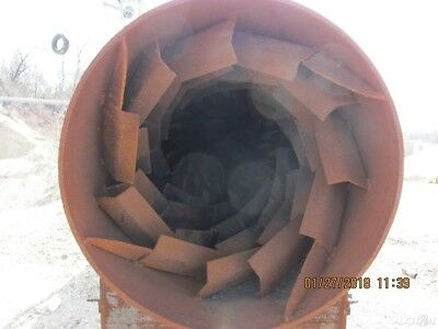 2010 Gas fired Tunnel type Coke Dryer or Material Dryer Used