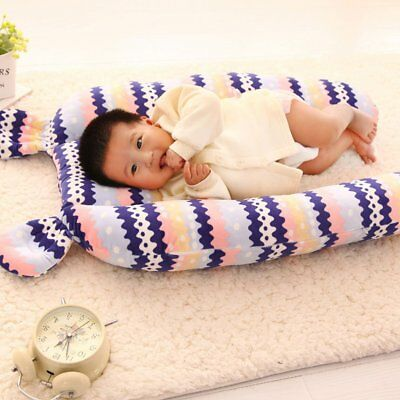Universal Infant Baby Bed Crib Soft Plush Pillow Pad Bumpers Protection Doll Toy