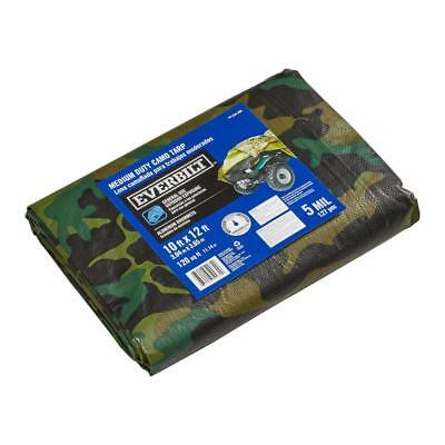 Everbilt 10 ft. x 12 ft. Camo Tarp 534 299