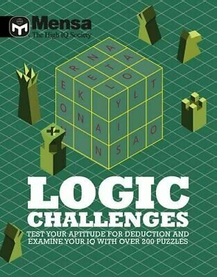 Mensa: Logic Challenges by Mensa Book The Cheap Fast Free Post