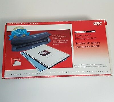 GBC Docubind Personal Presentation Binding System Machine ONLY - Working