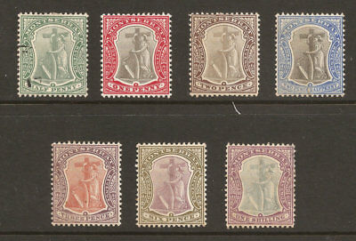 Montserrat 22-28 Previously Hinged Og , Free Shipping In Usa