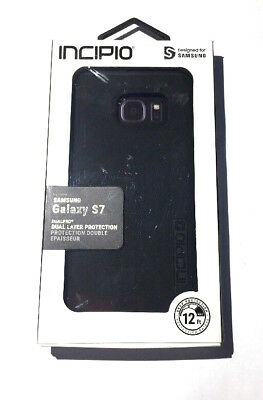 Incipio DualPro Black Case For Samsung Galaxy S7 - In Retail Packaging