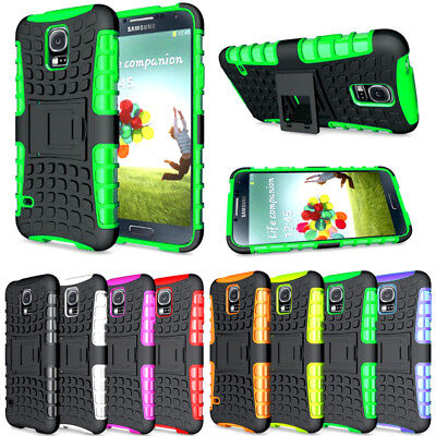 Heavy Duty Gorilla ShockProof Stand Case Cover Military Builder Huawei Y5 (2017)