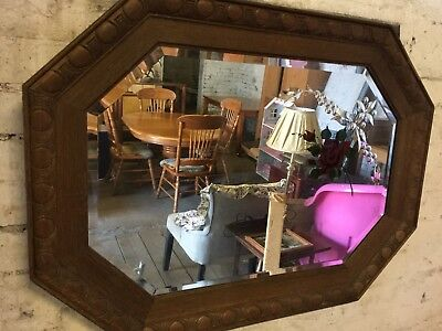 Antique distressed mirror