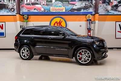2013 Jeep Cherokee SRT8 4X4 2013 Black SRT8 4X4!