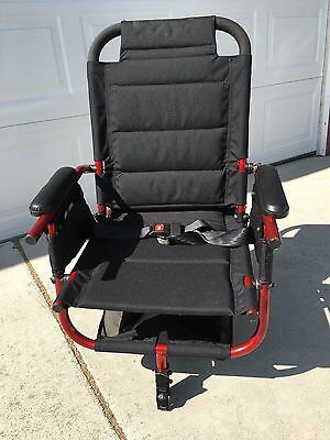 """Invacare At'm Take Along 18"""" Power Wheelchair Folding Seat only."""