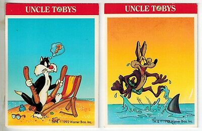 Uncle Tobys Collector Cards - Beach Looney Tunes 1992 (2)