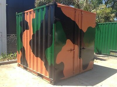 10 Foot Shipping Container, Site Shed,