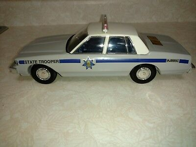 Chevy State Trooper Grey Jim Beam Decanter