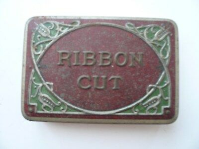 Ribbon Cut tobacco tin. Australian