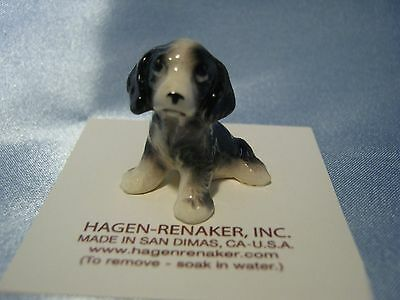 Hagen Renaker Dog Springer Spaniel Pup 3203 Figurine Miniature Porcelain NEW