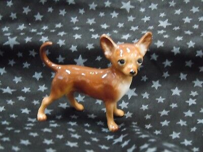 Hagen Renaker Dog Chihuahua Brown 40251 Pedigree Line Figurine FREE SHIP NEW