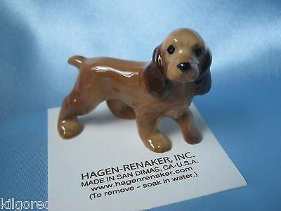 Hagen Renaker Dog Papa Cocker Spaniel Figurine Miniature 028 FREE SHIPPING NEW
