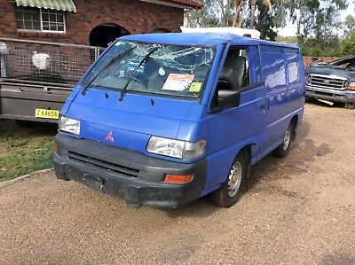Damaged Mitsubishi express van LOW KMS starts and runs going engine and gearbox
