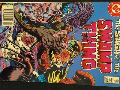 Saga of the Swamp Thing #22 (Mar 1984,DC) newsstand copy. Alan Moore