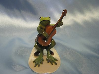 Hagen Renaker Guitar Player Frog 3179 Figurine Miniature FREE SHIPPING NEW