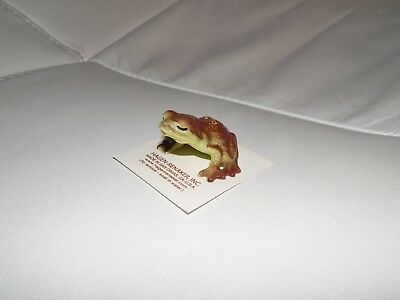 Hagen Renaker Kissing Frog Figurine Miniature 4027 FREE SHIPPING NEW Retired