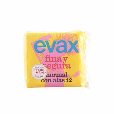 Evax Fina & Segura Normal With Wings Sanitary Towels 12 Units Women