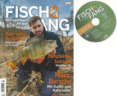 Anglermagazin Fisch&Fang 03/2018 mit Abo-DVD