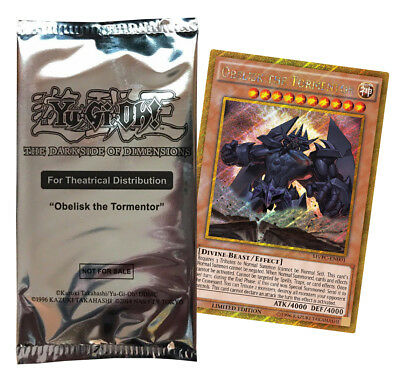 Yugioh - The Dark Side of Dimensions - 1 Booster - Englisch - Limitiert