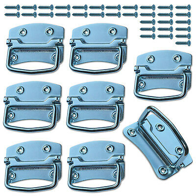 Chest Handles Case Toolbox Storage Tool Box Handle Drawer Puller Set of 8
