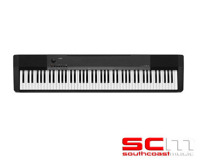 CASIO CDP135 BLACK 88 WEIGHTED KEYS DIGITAL PIANO KEYBOARD with WARRANTY