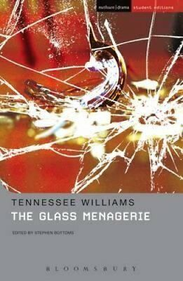 """The """"Glass Menagerie"""" by Tennessee Williams 9780713685121 (Paperback, 2008)"""