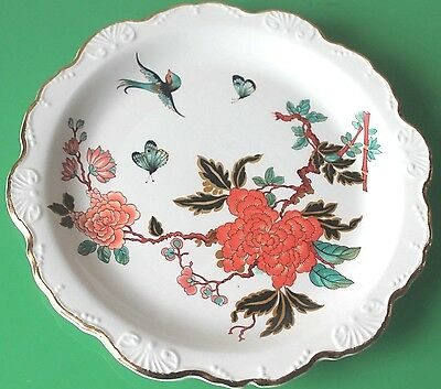 James Kent for Old Foley 'Eastern Glory' Scalloped Plate 22cm c.1960