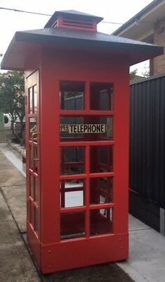 Red Telephone Box - Rare and Collectable
