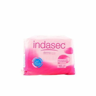 Indasec Dermoseda Compresses Incontinence Micro Plus 16 Units Women