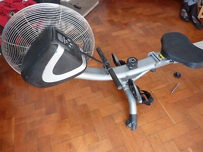 Body Sculpture rower BR-2700 foldable fan air rowing machine